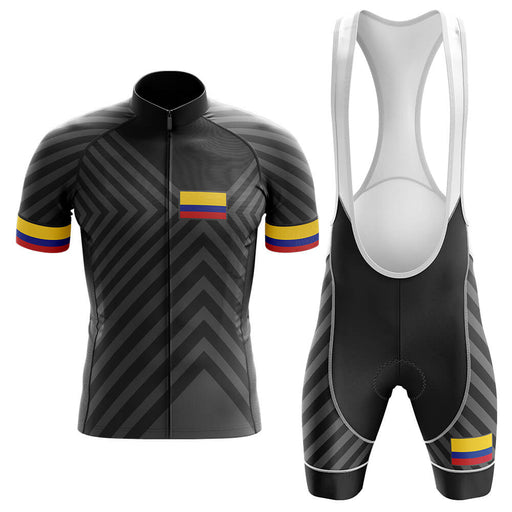 Colombia V13 - Black - Men's Cycling Kit - Global Cycling Gear
