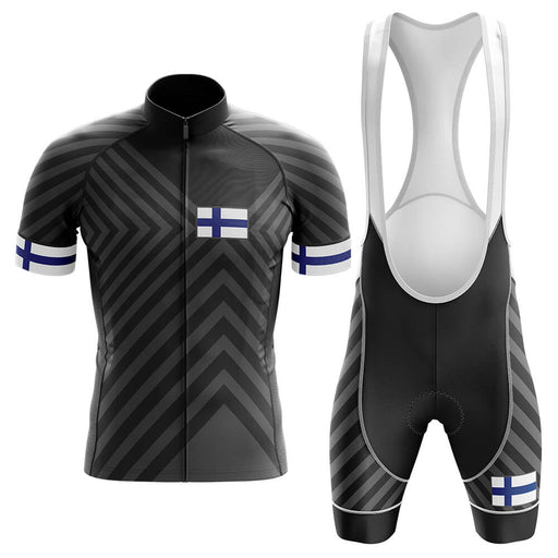 Finland V13 - Black - Men's Cycling Kit - Global Cycling Gear