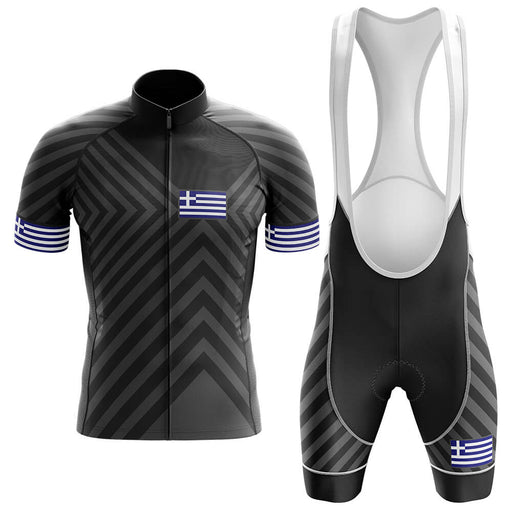 Greece V13 - Black - Men's Cycling Kit - Global Cycling Gear