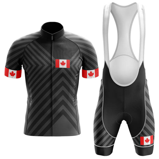 Canada V13 - Black - Men's Cycling Kit - Global Cycling Gear