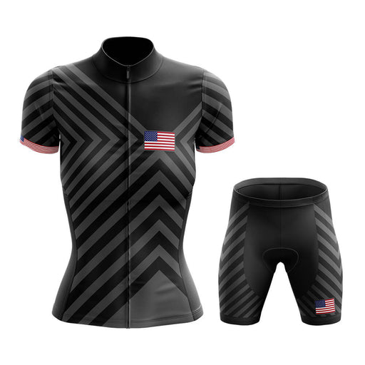 USA - Women V13 - Cycling Kit - Global Cycling Gear