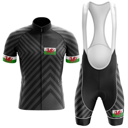 Wales V13 - Black - Men's Cycling Kit - Global Cycling Gear