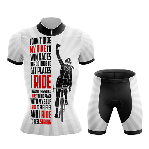 Ride My Bike - Women - Cycling Kit - Global Cycling Gear