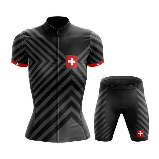 Switzerland - Women V13 - Cycling Kit - Global Cycling Gear