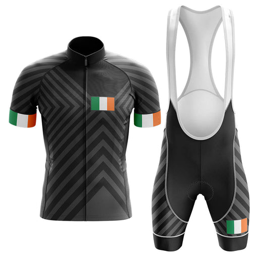 Ireland V13 - Black - Men's Cycling Kit - Global Cycling Gear