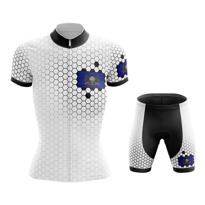 Pennsylvania - Women V7 - Cycling Kit - Global Cycling Gear