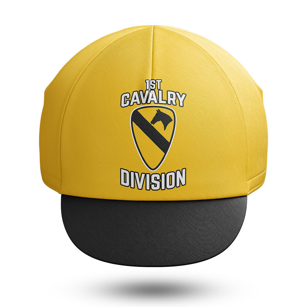 ae11ea2dae8f9 1st Cavalry Division Cycling Cap - Global Cycling Gear