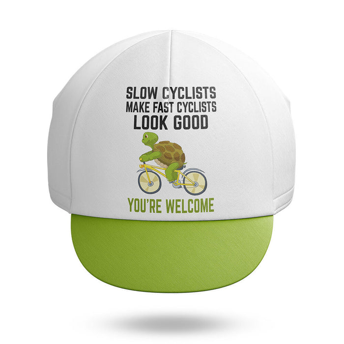 Slow Cyclist - Cycling Cap