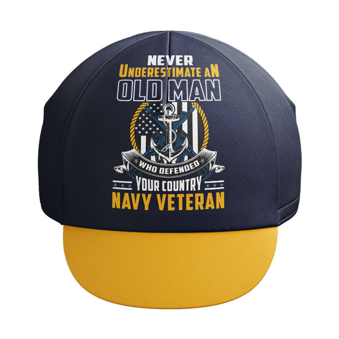 U.S. Navy Veteran Old Man Cap - Global Cycling Gear