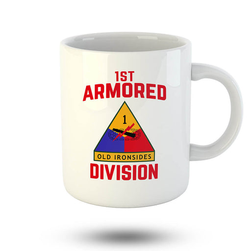 1st Armored Division Mug - Global Cycling Gear
