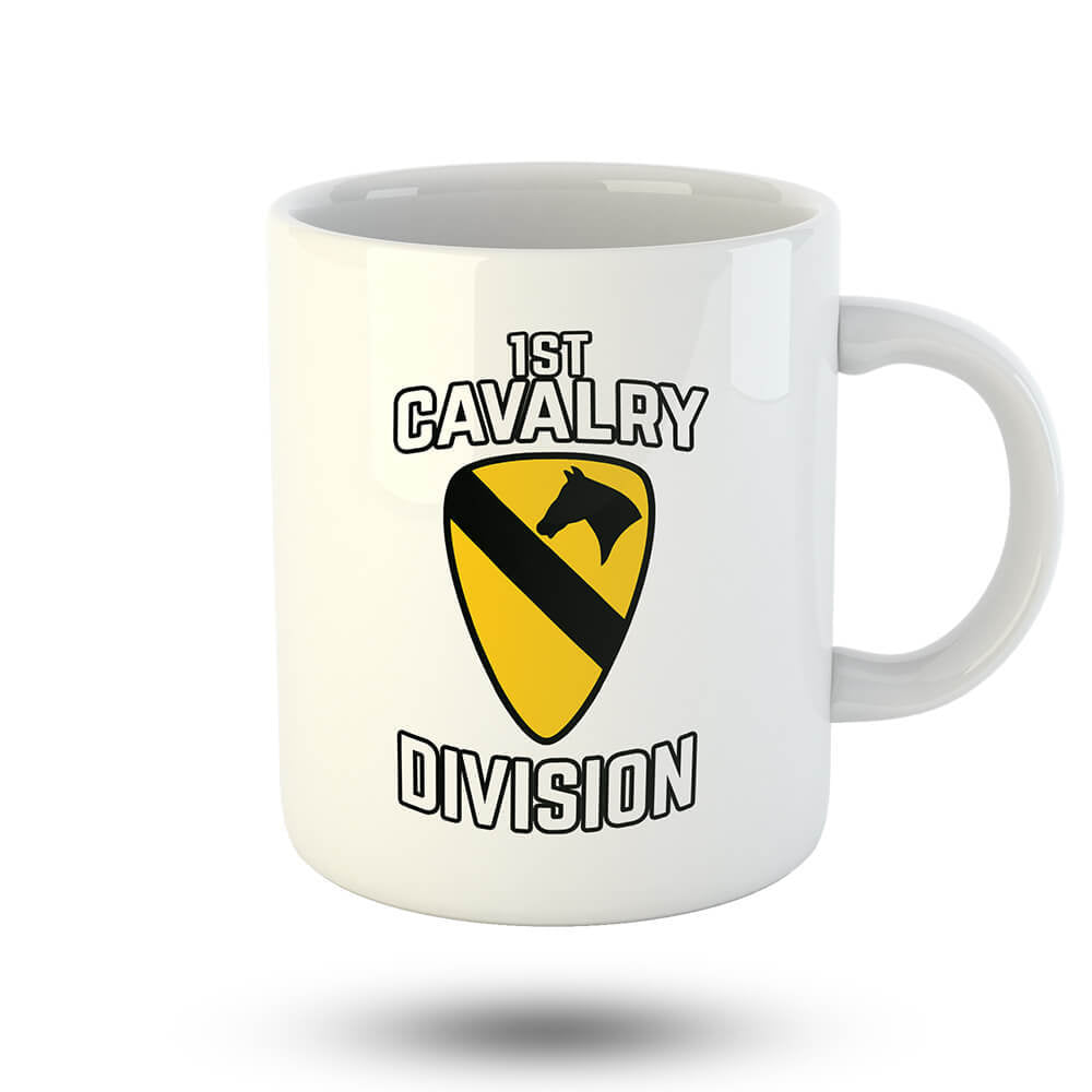 1st Cavalry Division Mug - Global Cycling Gear