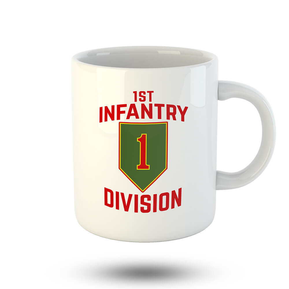 1st Infantry Division Mug - Global Cycling Gear