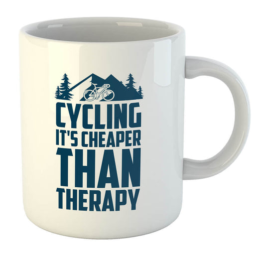 Cycling Cheaper Mug