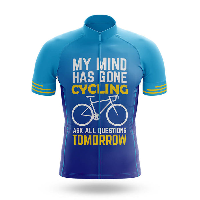 My Mind Has Gone Cycling   - Men's Cycling Kit - Global Cycling Gear