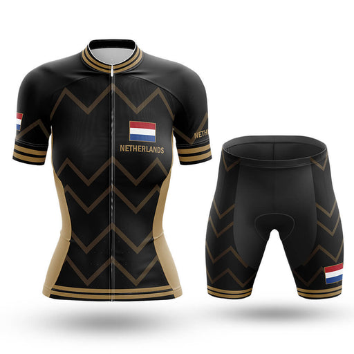 Netherlands - Women V17 - Cycling Kit - Global Cycling Gear