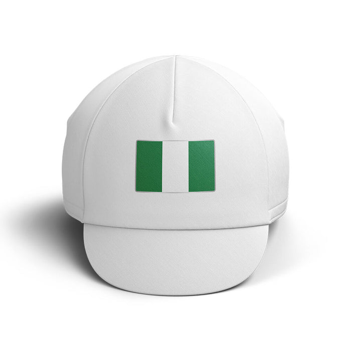 Nigeria Cycling Cap V4 - Global Cycling Gear
