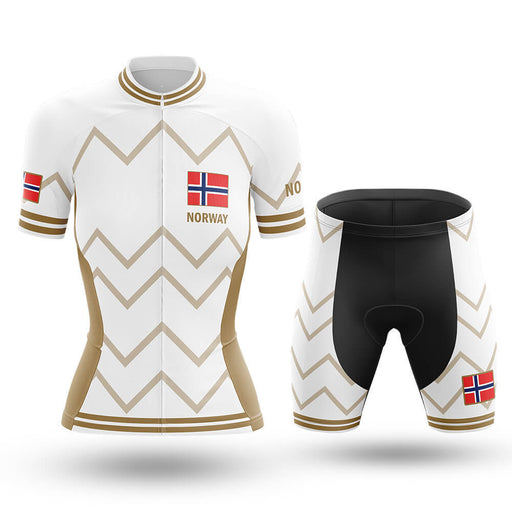 Norway - Women V17 - White - Cycling Kit