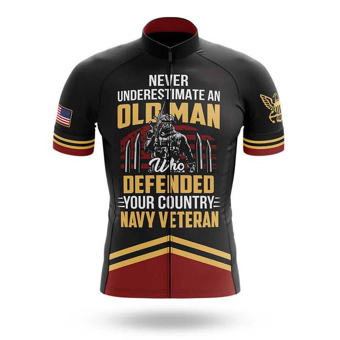U.S. Navy Veteran Old Man V2 - Men's Cycling Kit - Global Cycling Gear