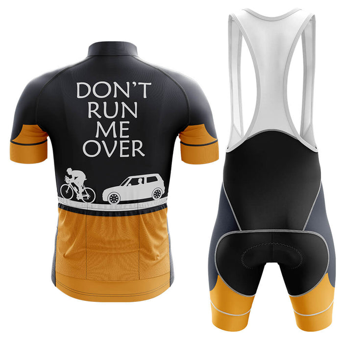 Don't Run Me Over - Safety Men's Cycling Kit - Global Cycling Gear