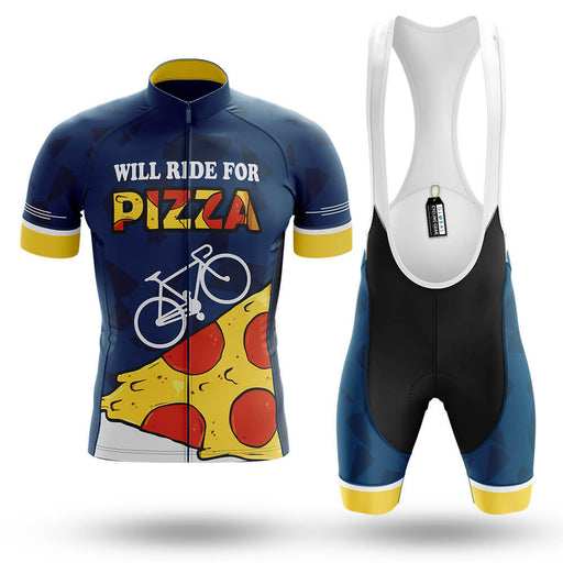 Will Ride For Pizza - Men's Cycling Kit - Global Cycling Gear