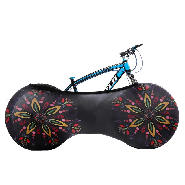Flower Bicycle Cover - Global Cycling Gear