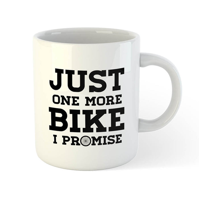 Just One More Bike Mug - Global Cycling Gear