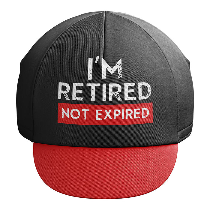Retired Not Expired - Cycling Cap - Global Cycling Gear
