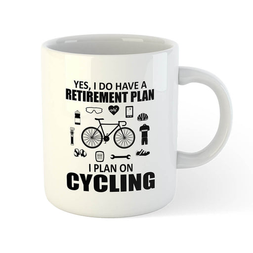 Retirement Plan Mug - Global Cycling Gear