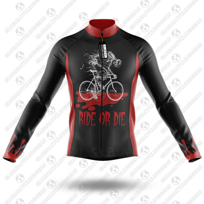 Ride Or Die - Long Sleeve Jersey - Global Cycling Gear