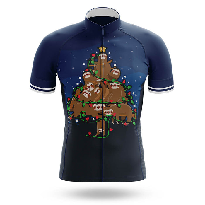 Sloth Christmas Tree - Men's Cycling Kit - Global Cycling Gear