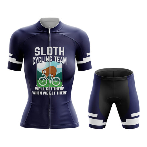 Sloth Cycling Team - Women V5 - Global Cycling Gear