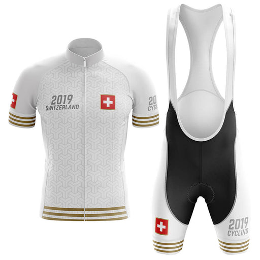 Switzerland 2019 - Men's Cycling Kit - Global Cycling Gear