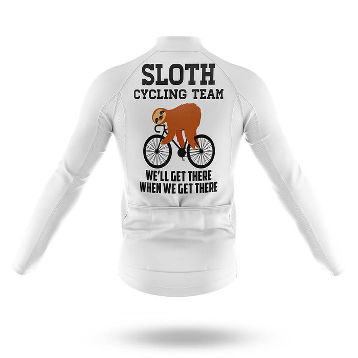 Sloth Cycling Team V2 - Long Sleeve Jersey - Global Cycling Gear