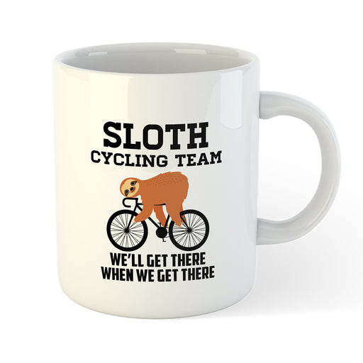 Sloth Cycling Team Mug - Global Cycling Gear