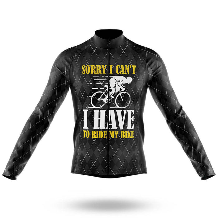 Sorry I Can't - Men's Cycling Kit