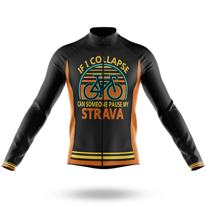Pause My Strava V2 - Men's Cycling Kit - Global Cycling Gear