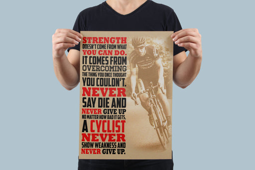 Strength Poster - Global Cycling Gear