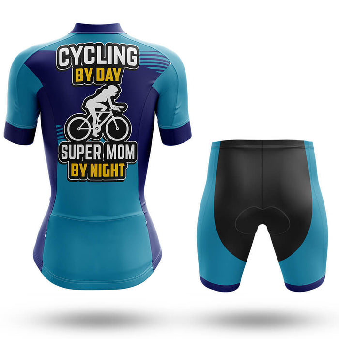 Super Mom By Night - Cycling Kit - Global Cycling Gear