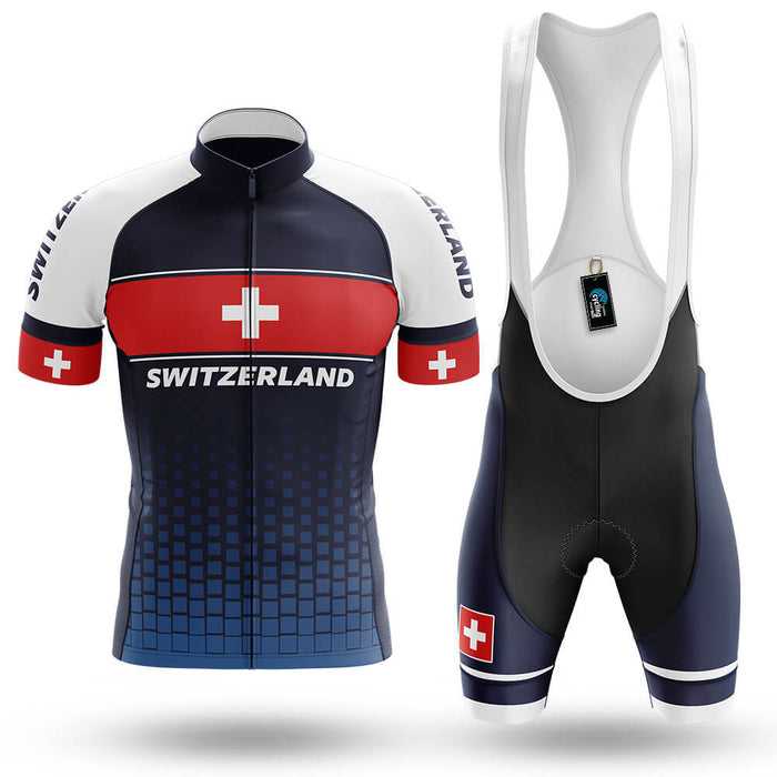 Switzerland S1 - Men's Cycling Kit - Global Cycling Gear