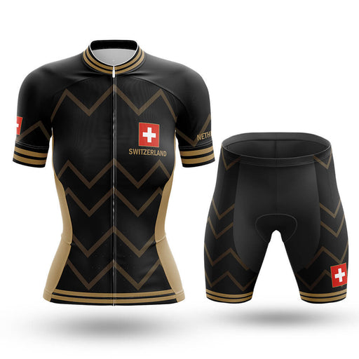 Switzerland - Women V17 - Cycling Kit - Global Cycling Gear
