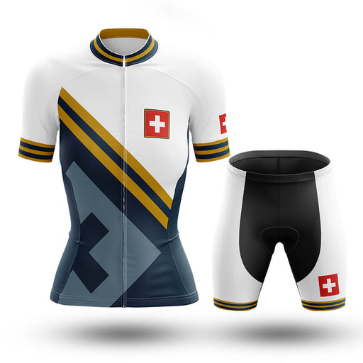 Switzerland - Women V15 - Cycling Kit - Global Cycling Gear