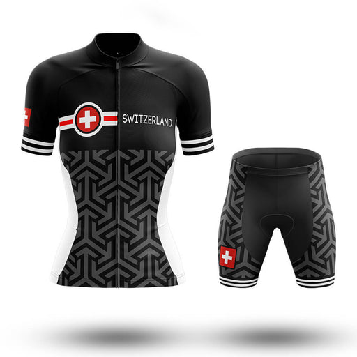 Switzerland V18 - Women - Cycling Kit - Global Cycling Gear
