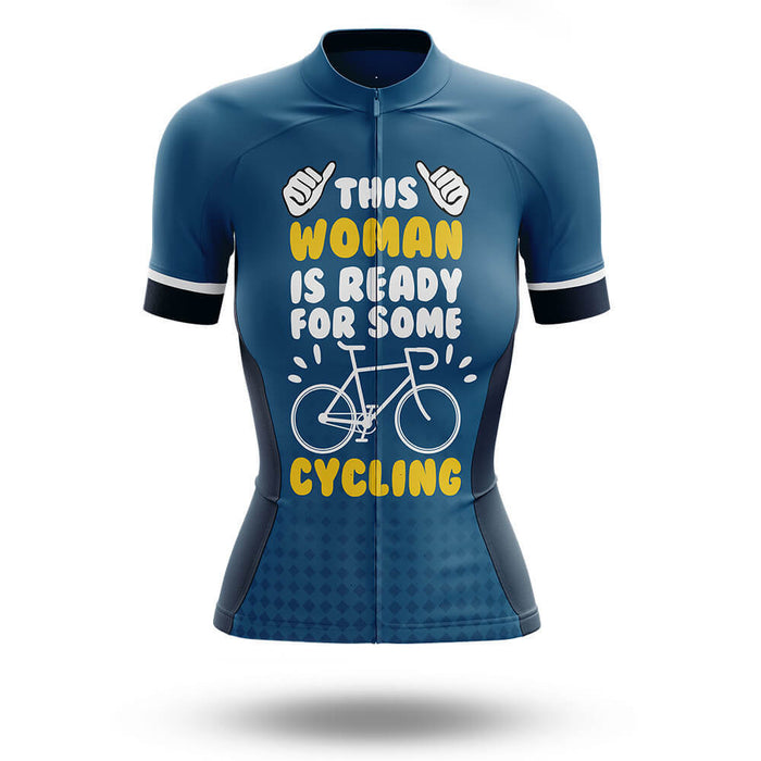 This Woman Loves Cycling - Women's  Cycling Kit - Global Cycling Gear