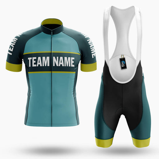 Custom Team Name V5 - Men's Cycling Kit