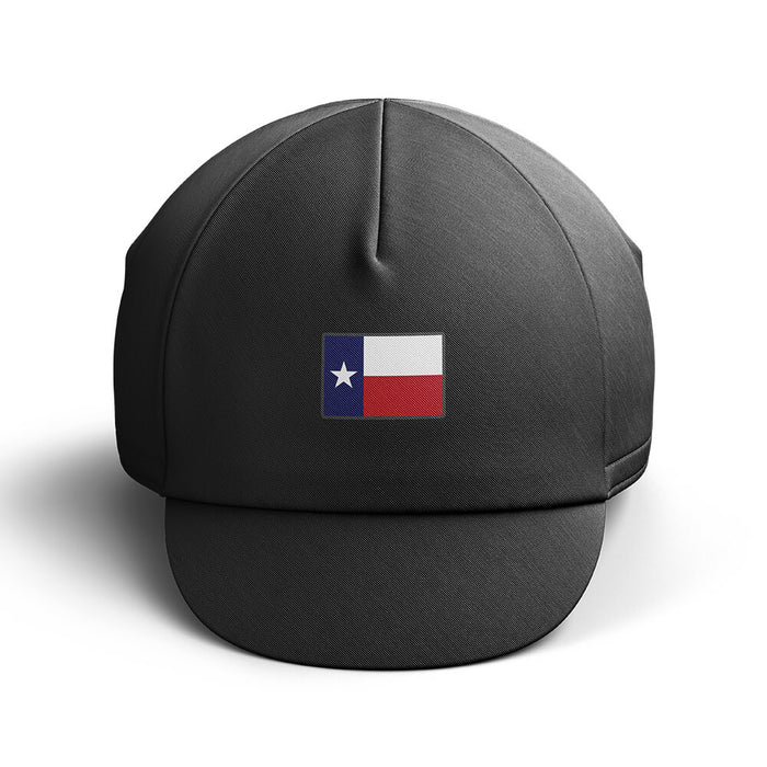 Texas Cycling Cap - Black - Global Cycling Gear