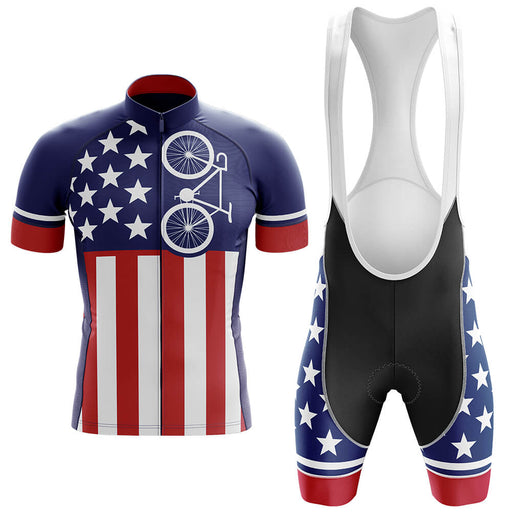 USA Flag - Men's Cycling Kit - Global Cycling Gear