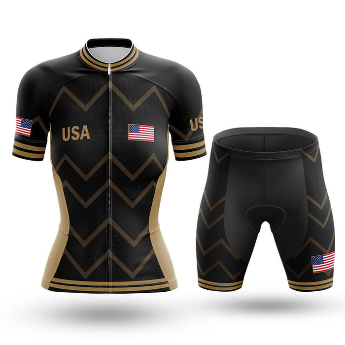 USA - Women V17 - Cycling Kit - Global Cycling Gear
