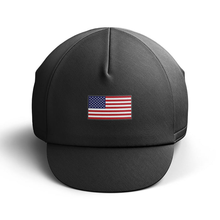 USA Cycling Cap - Black - Global Cycling Gear