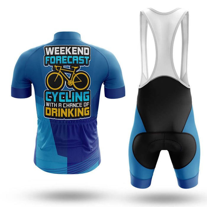 Cycling Weekend Forecast - Men's Cycling Kit - Global Cycling Gear