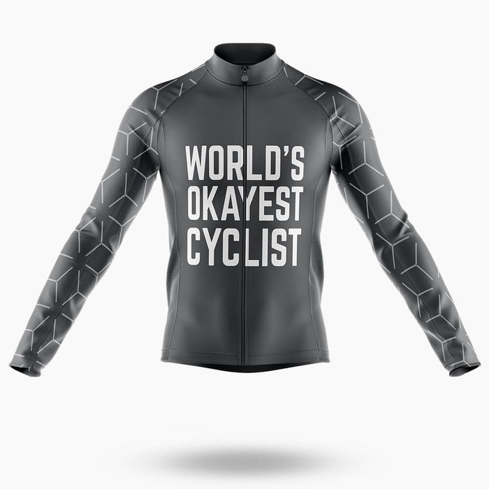 World's Okayest Cyclist  - Men's Cycling Kit